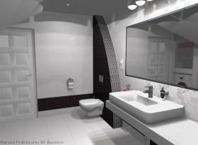 Projekty wykonawcze łazienek, aranżacja łazienek