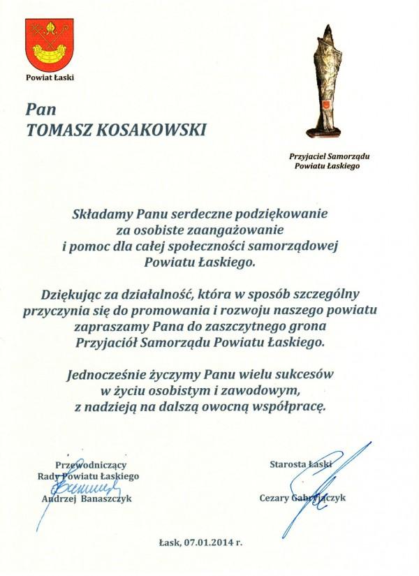 Przyjaciel Powiatu Łaskiego